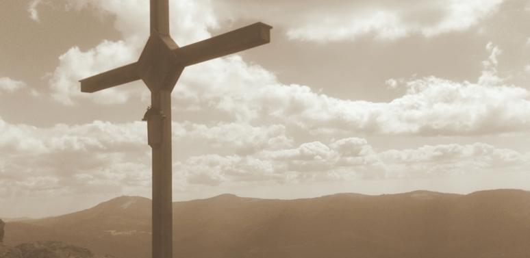 Gipfelkreuz Großer Osser